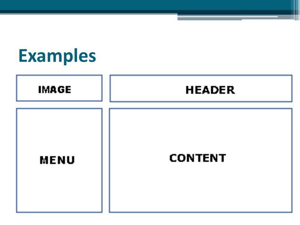Design Layout For Webpage Steps of designing layout webpage with table ▫ Add table ▫ Adjust the width of table and cells ▫ Format the table  Table borders (invisible/visible)  Table background (transparent/color/image)  Using Style in Properties box in Visual Studio ▫ Add content to cells