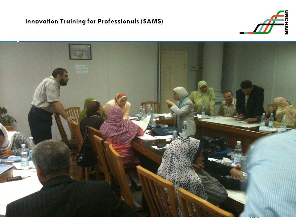 20 Innovation Training for Professionals (SAMS)