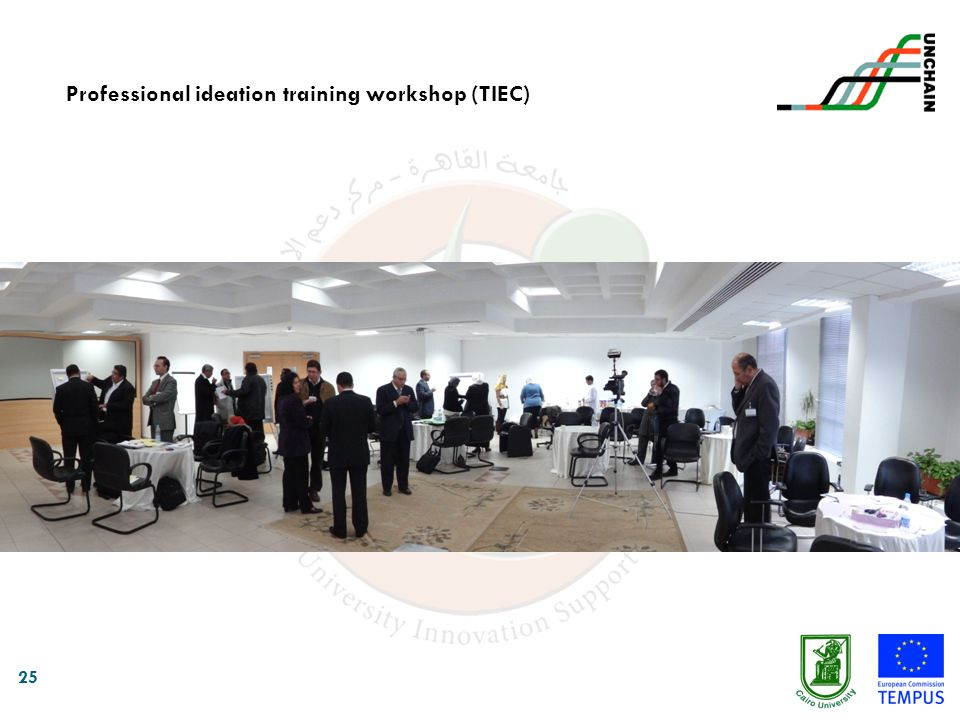 25 Professional ideation training workshop (TIEC)