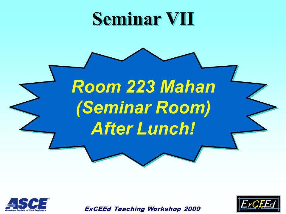 21 Chalkboard & PowerPoint Seminar VI Instructional Technology: Seminar VI Instructional Technology: Questions?