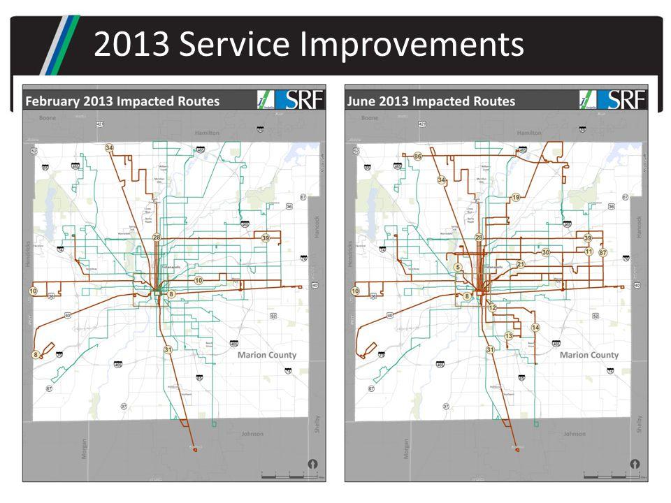 2013 Service Improvements