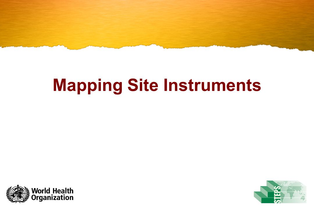 Mapping Site Instruments