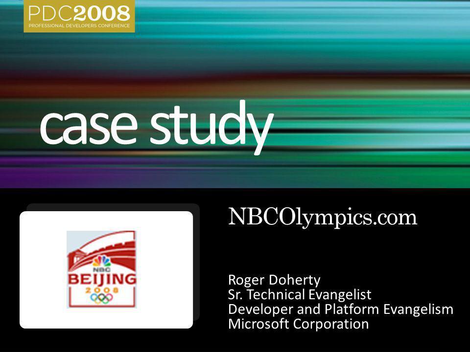 Roger Doherty Sr. Technical Evangelist Developer and Platform Evangelism Microsoft Corporation