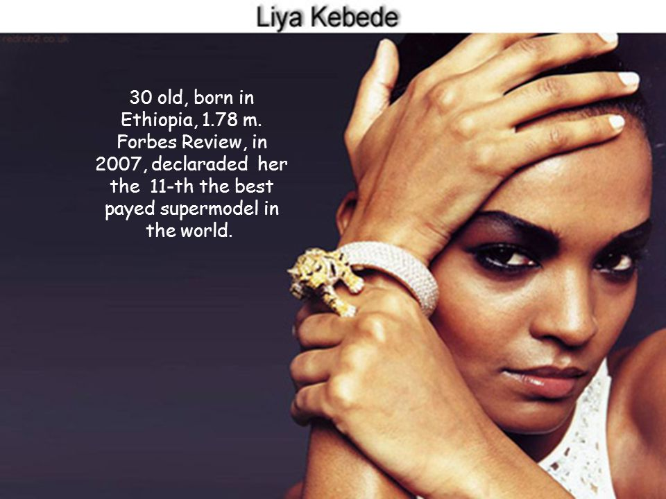 27 old, born in Brazil, 1.80 m, she is the best payed supermodel of the world. In 2007, she won more 33 millions dollars, added to 150 millions dollar
