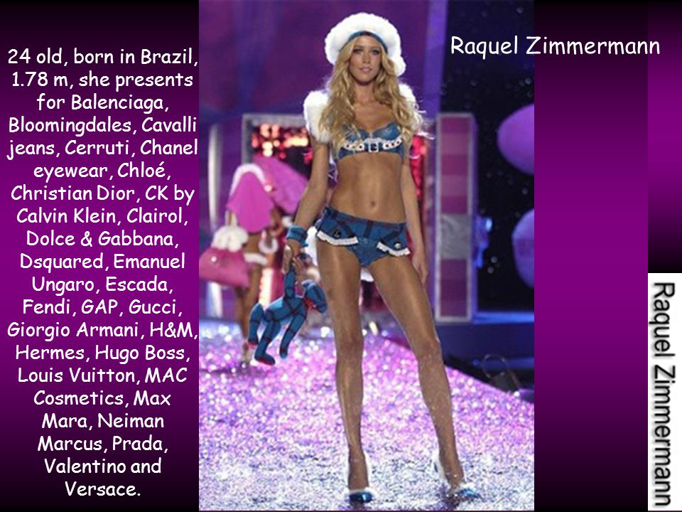 30 old, born in Ethiopia, 1.78 m. Forbes Review, in 2007, declaraded her the 11-th the best payed supermodel in the world.