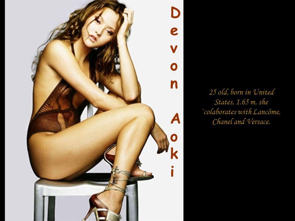 23 old, born in Canada, 1.75 m, she is compared with Heather Marks, Gemma Ward, Lily Cole, Jessica Stam si Devon Aoki.