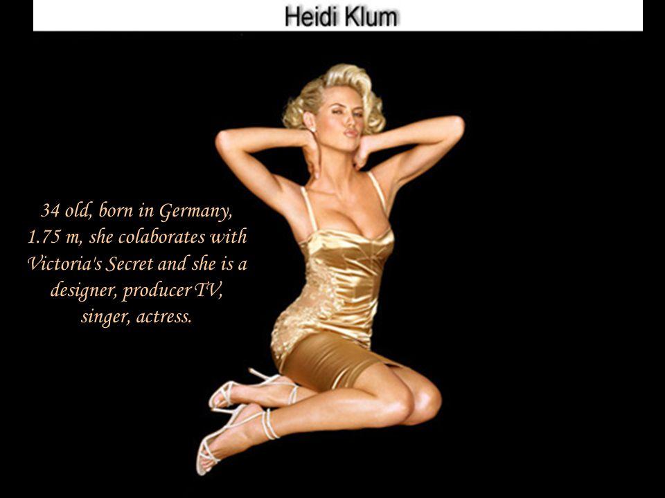 23 old, born in Czech Republic, 1.80 m, she colaborates with Victoria's Secret.