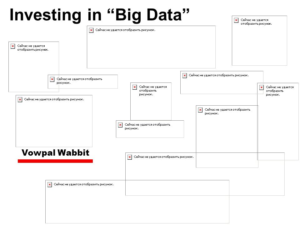 "Investing in ""Big Data"" Vowpal Wabbit"