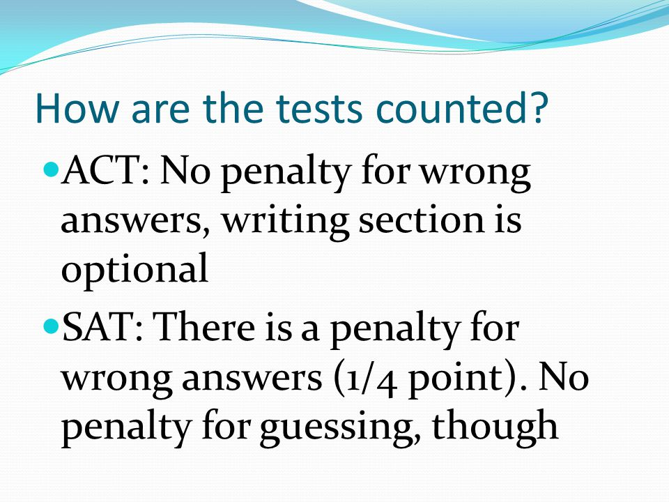 When should I take the test.