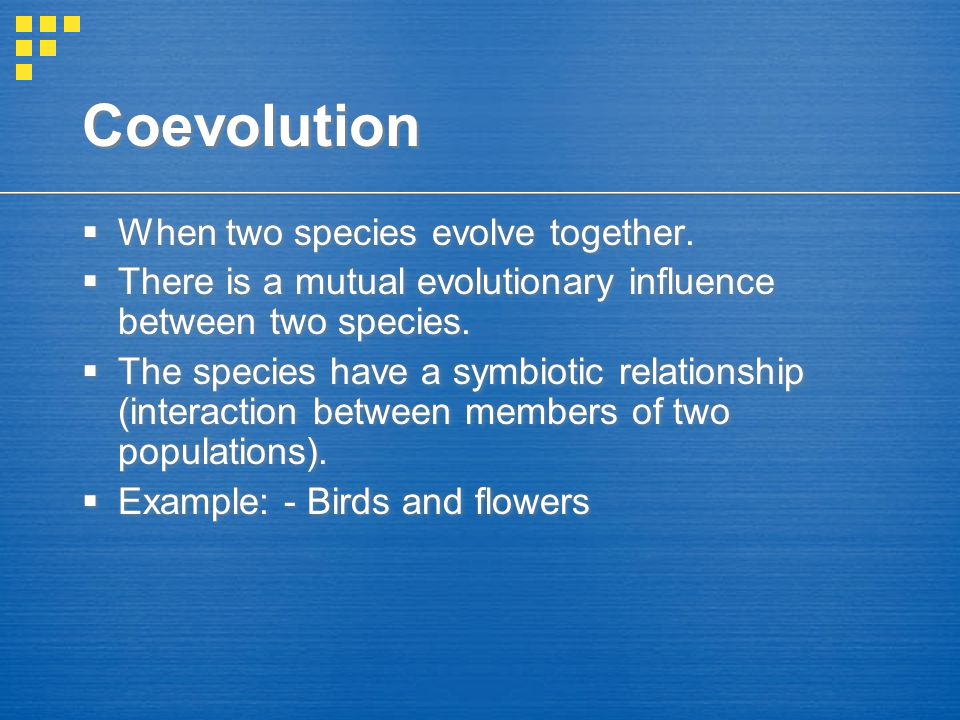 Divergent Evolution  The process by which an ancestral species gives rise to a number of new species that are adapted to different environmental conditions and are less alike.