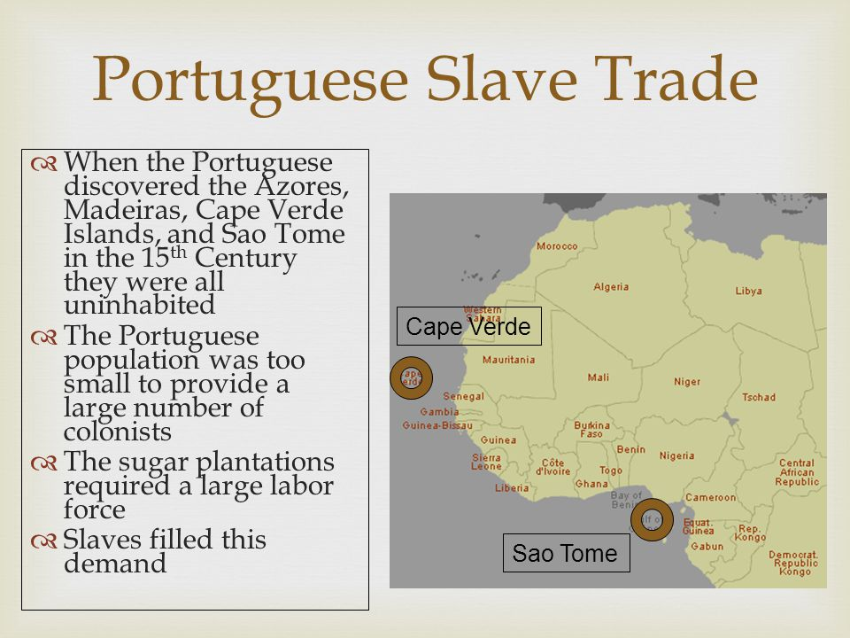 Middle Passage  Most ships provided slaves with enough room to sit upright, but not enough to stand  Others forced slaves to lie in chains with barely 20 inches space between them