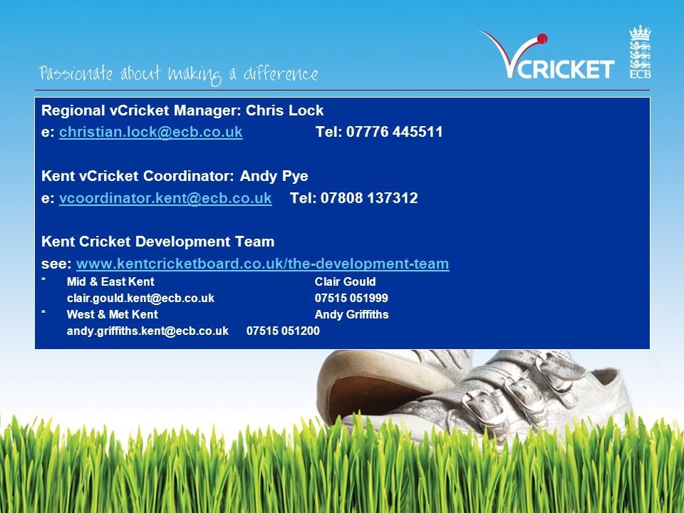 HOW WILL YOU TRAIN VOLUNTEERS? Cricket-Specific Not Cricket-Specific