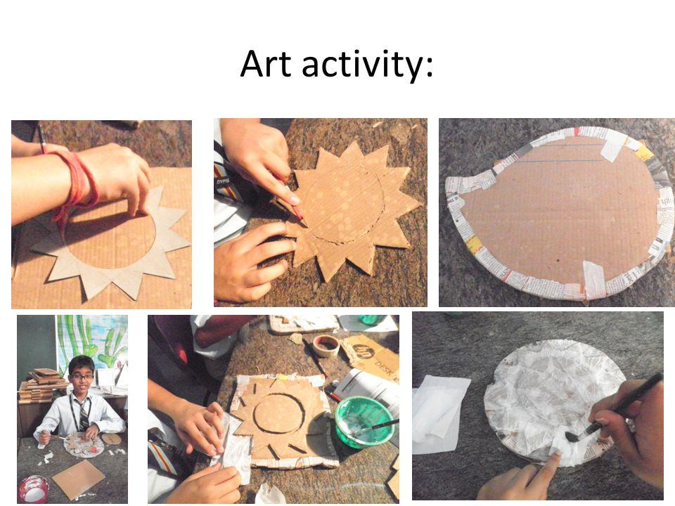 Art activity:
