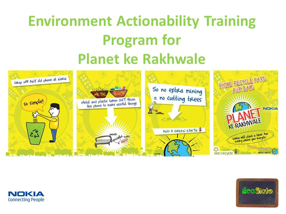 Environment Actionability Training Program for Planet ke Rakhwale