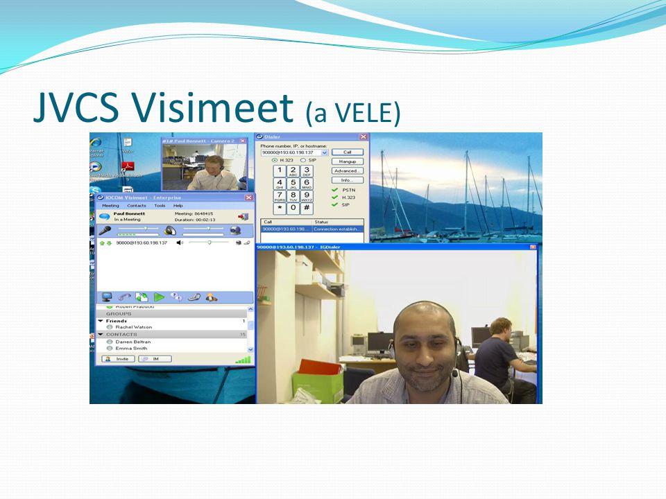 JVCS Visimeet (a VELE)