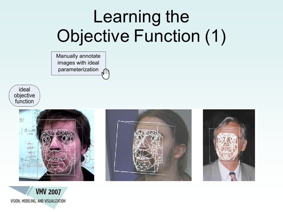 Learning the Objective Function (1)