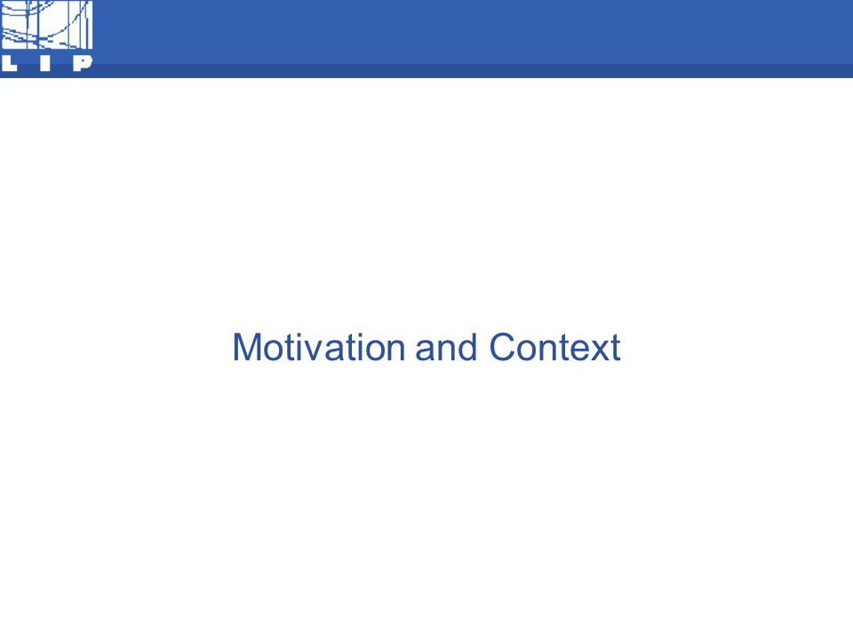 F Motivation and Context