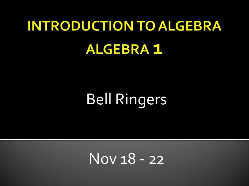 Bell Ringers Nov 18 - 22