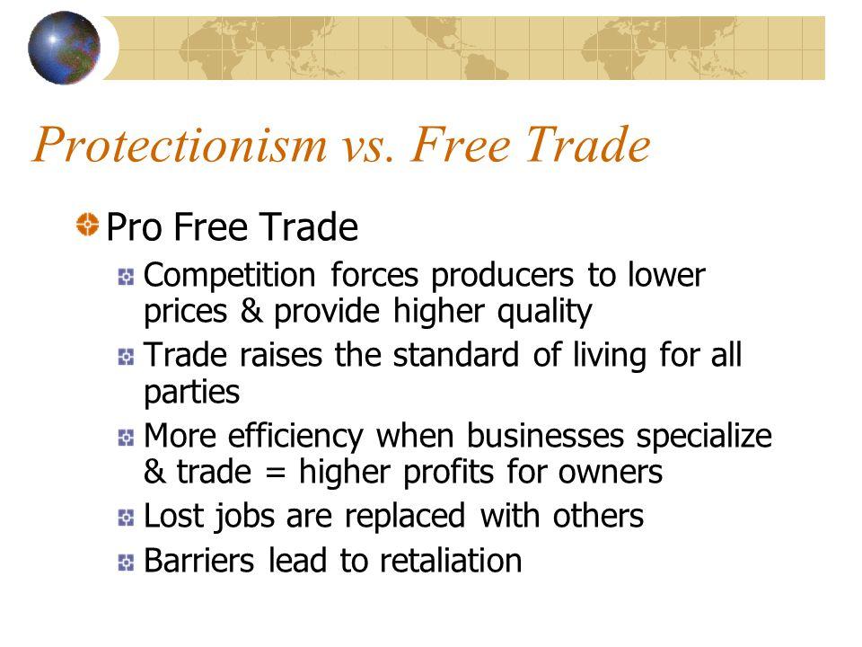 Protectionism vs.