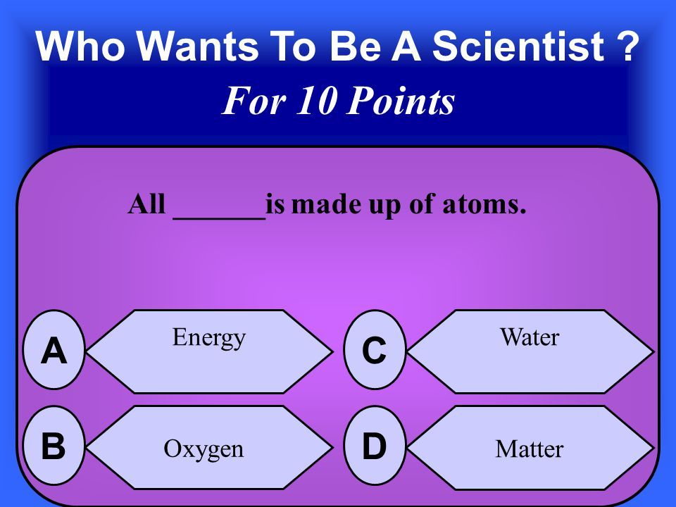 The Answer is Atom A