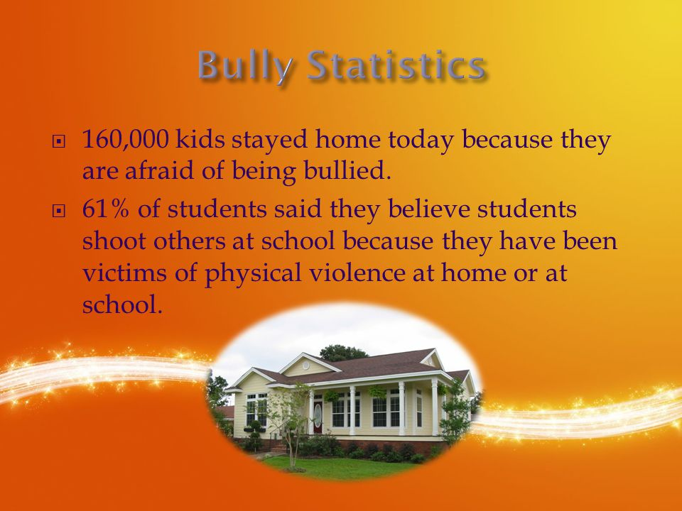  About 56% of all students have witnessed a bullying crime take place while at school.