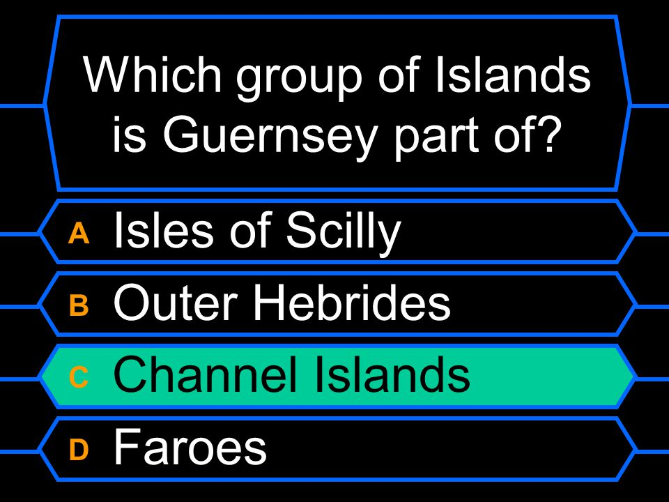 Which group of Islands is Guernsey part of.