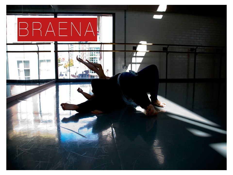 Braena's practice is accessible, it gives participants a choice, and we work with authentic movement practices and contact improvisation.