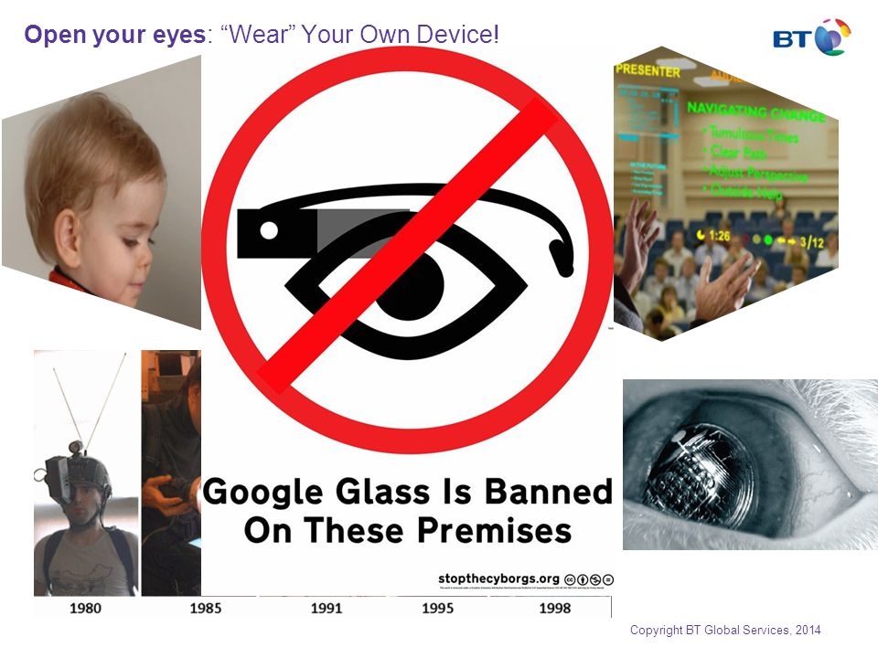 Open your eyes: Wear Your Own Device.