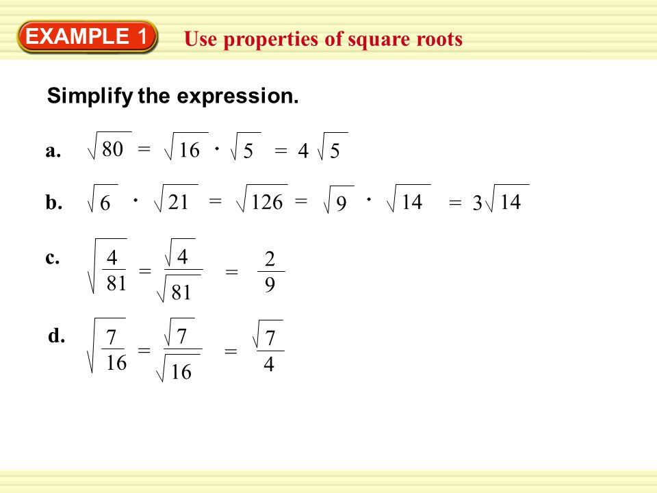 Solving Quadratic Equations By Finding Square Roots Worksheet – Multiplying Square Roots Worksheet