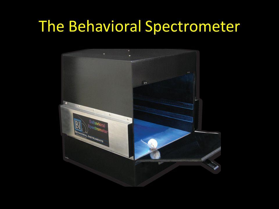 The Behavioral Spectrometer