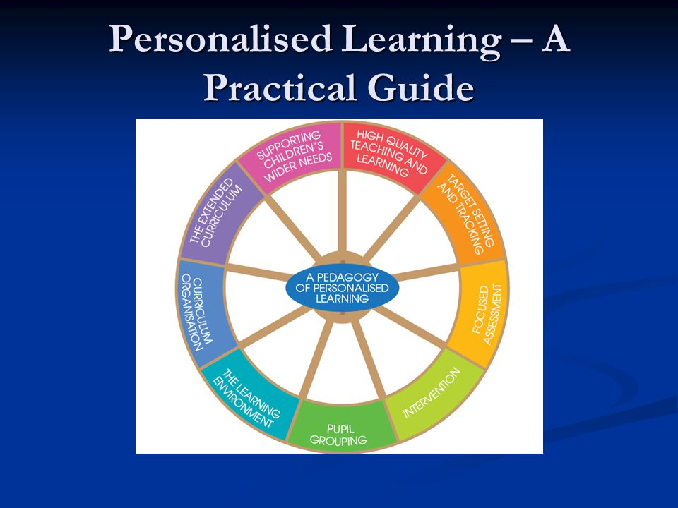 Personalised Learning – A Practical Guide