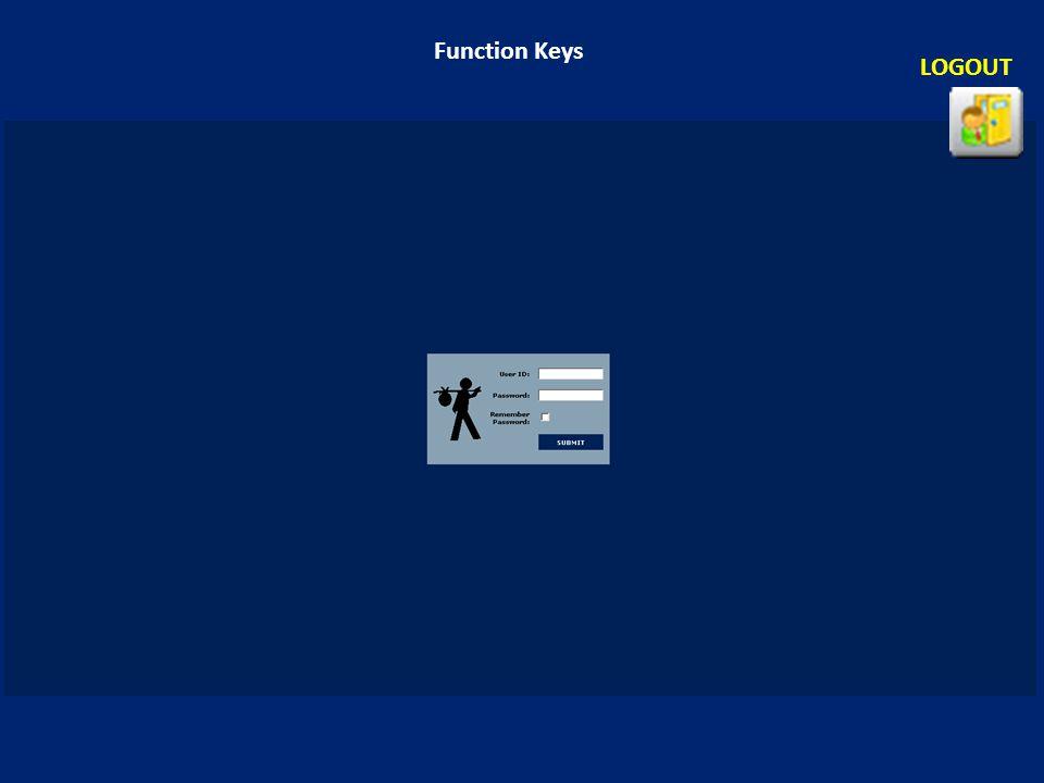 Function Keys LOGOUT