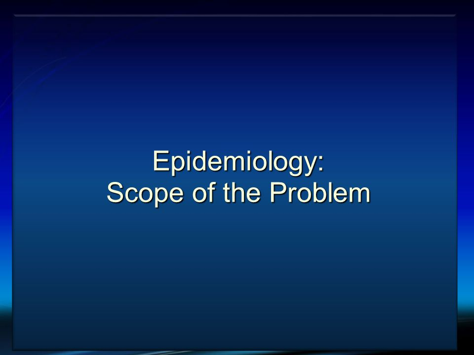 VTE and Cancer Epidemiology: Scope of the Problem
