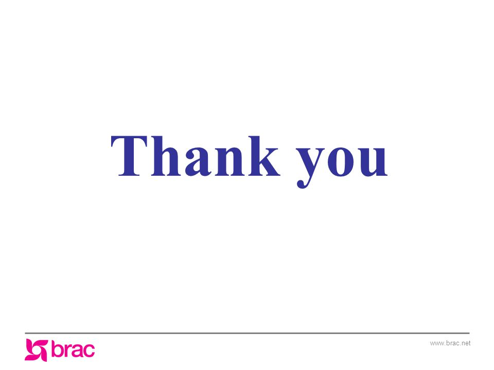 www.brac.net Thank you