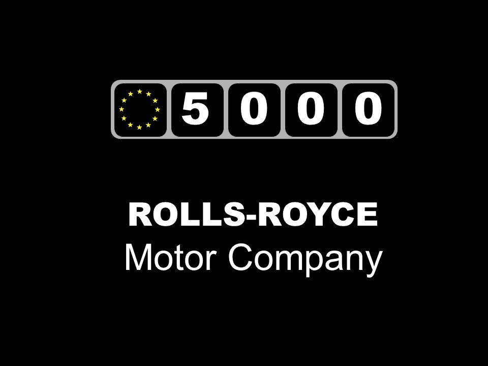 5000 ROLLS-ROYCE Motor Company