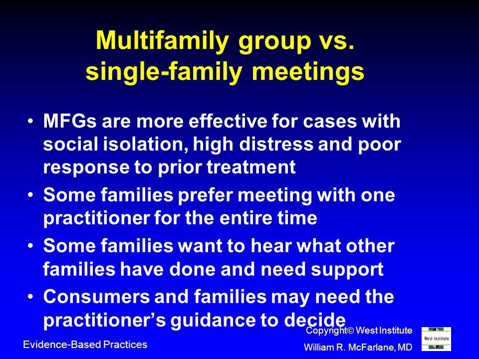 Multifamily group vs.