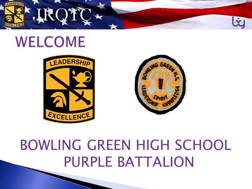 BOWLING GREEN HIGH SCHOOL PURPLE BATTALION