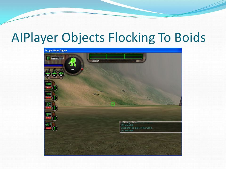 AIPlayer Objects Flocking To Boids