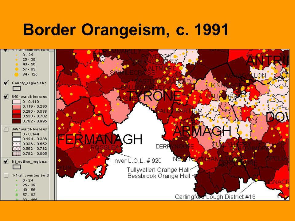 Border Orangeism, c. 1991