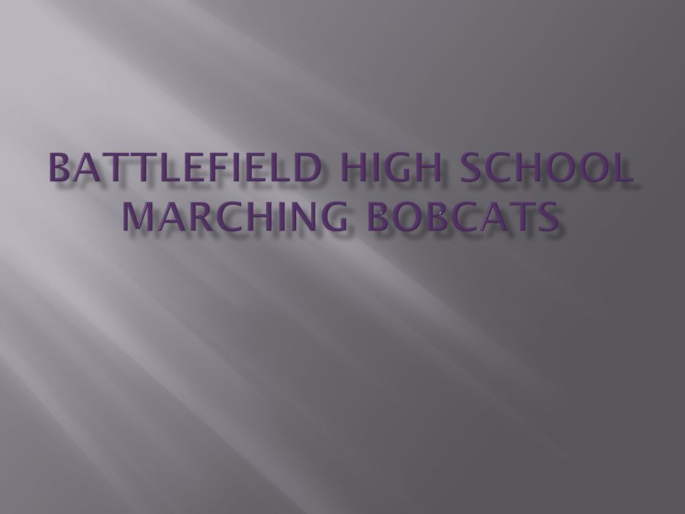 Charlottesville Calacade  High General Effect - Class A  2nd Place Auxiliary - Class A  1st Place Band – Class A Powhatan - Invitational  1st Place General Effect – Class AA  1st Place Music – Class AA  1st Place Marching – Class AA  3rd Place Percussion – Class AA  1st Place Band – Class AA  Grand Champion – Class A / AA Woodbridge – Warrior Classic  1st Place Band – Class A 2004 State Marching Festival  Superior Rating 2005 District 9 Concert Festival  Concert Band (Grade 4) – Superior Rating 2004-2005 VBODA Virginia Honor Band