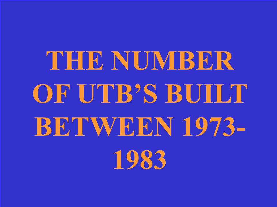 Category: UTB History