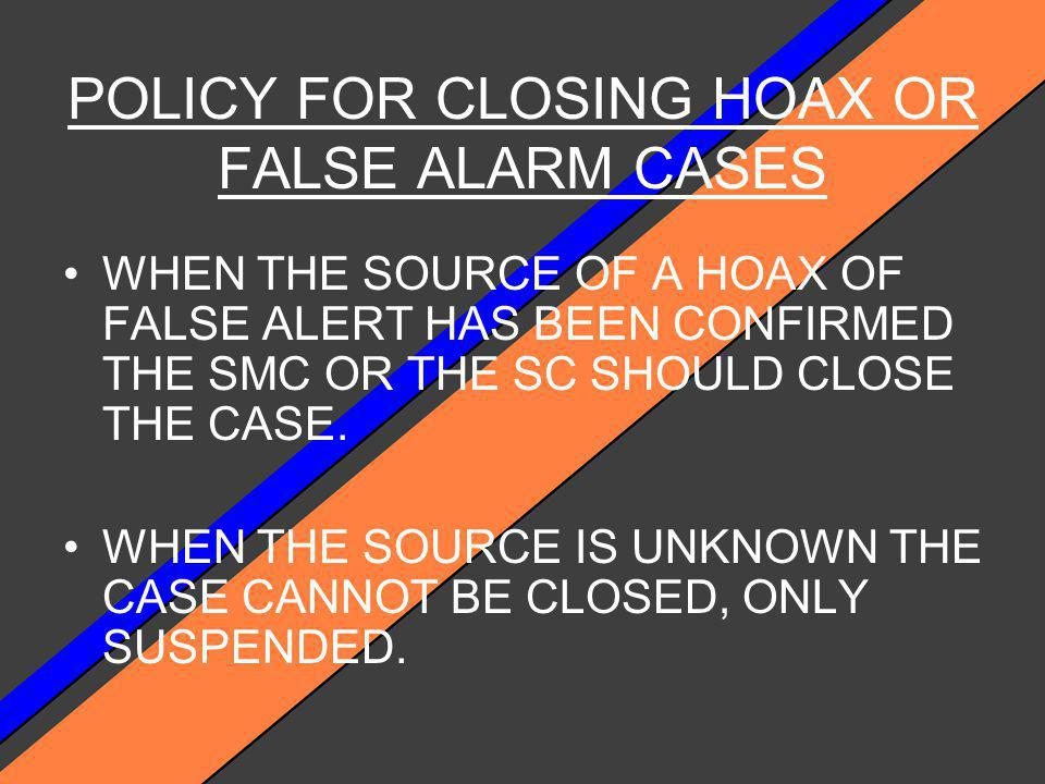 STATE THE DEFINITION OF A HOAX A HOAX IS A CASE WHERE INFORMATION IS REPORTED WITH THE INTENT TO DECIEVE.