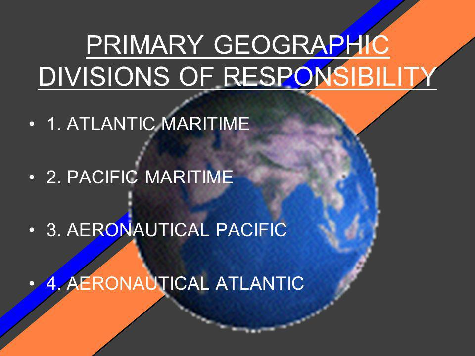 1. STATE AND UNDERSTAND COAST GUARD ORGANIZATION AND RESPONSIBILITY WHILE CONDUCTING SEACH AND RESCUE. 2. STATE AND UNDERSTAND USCG POLICY AND D1 SAR