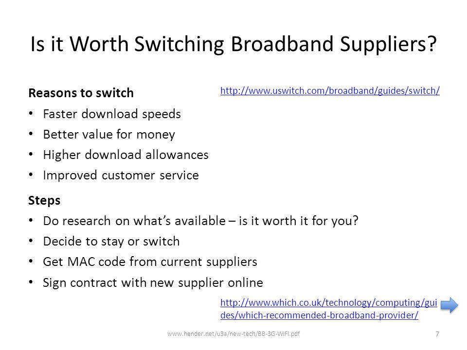 8 http://www.which.co.uk/technology/computing/guides/which-recommended-broadband-provider/