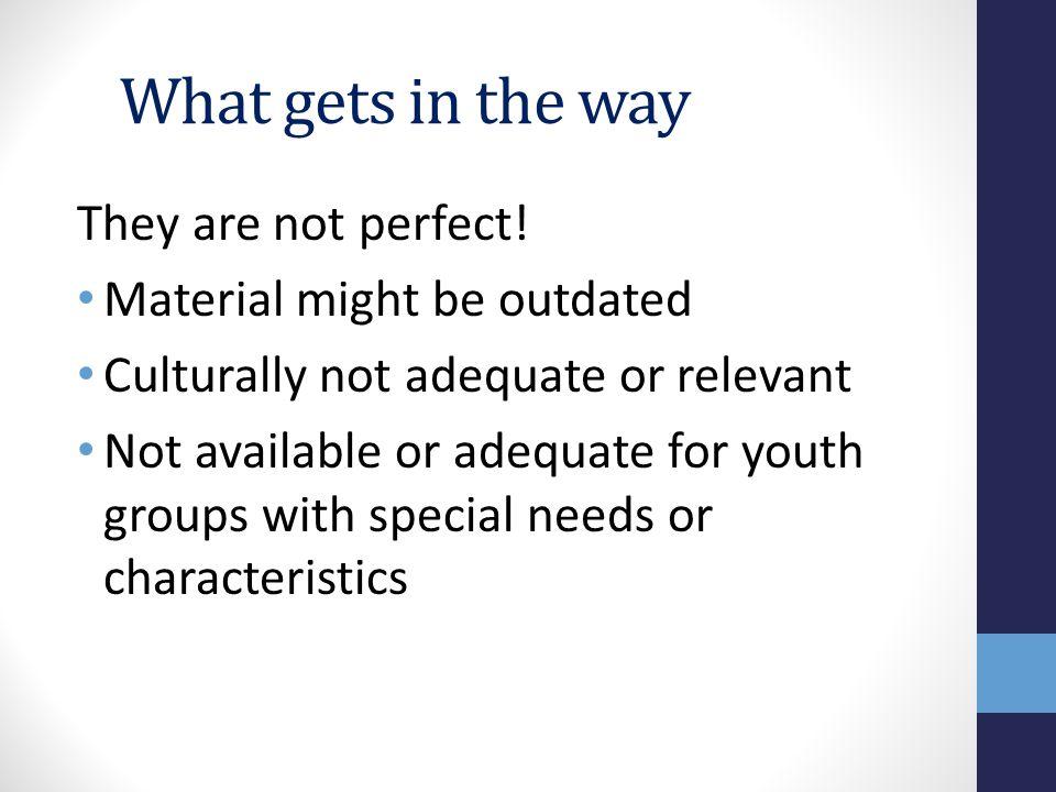 Why Create a Master List.