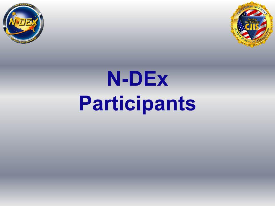 N-DEx Participants