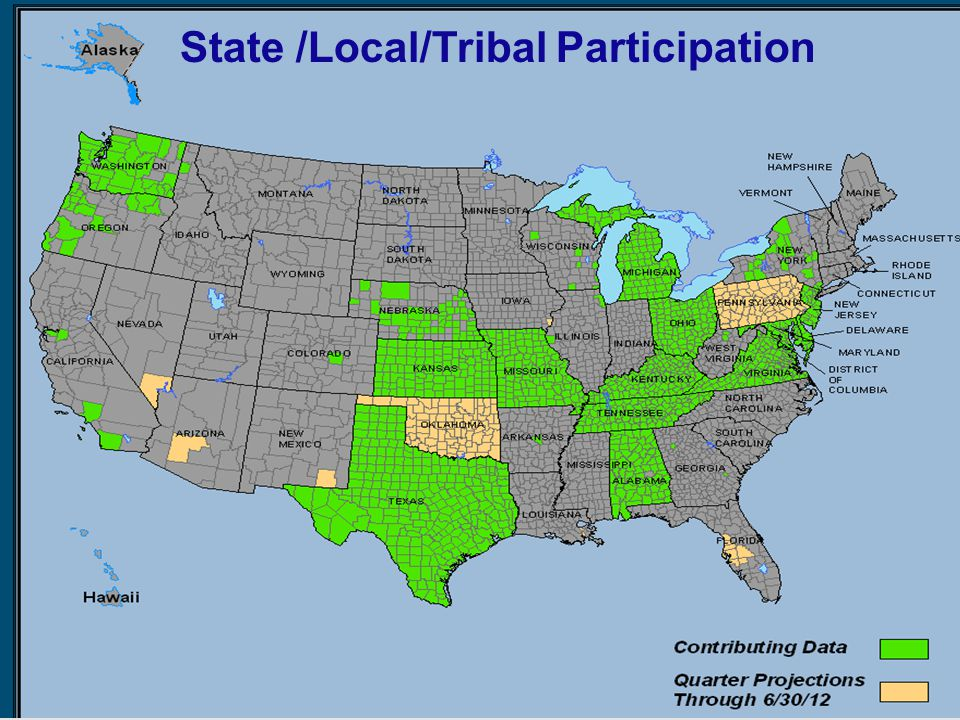 State /Local/Tribal Participation