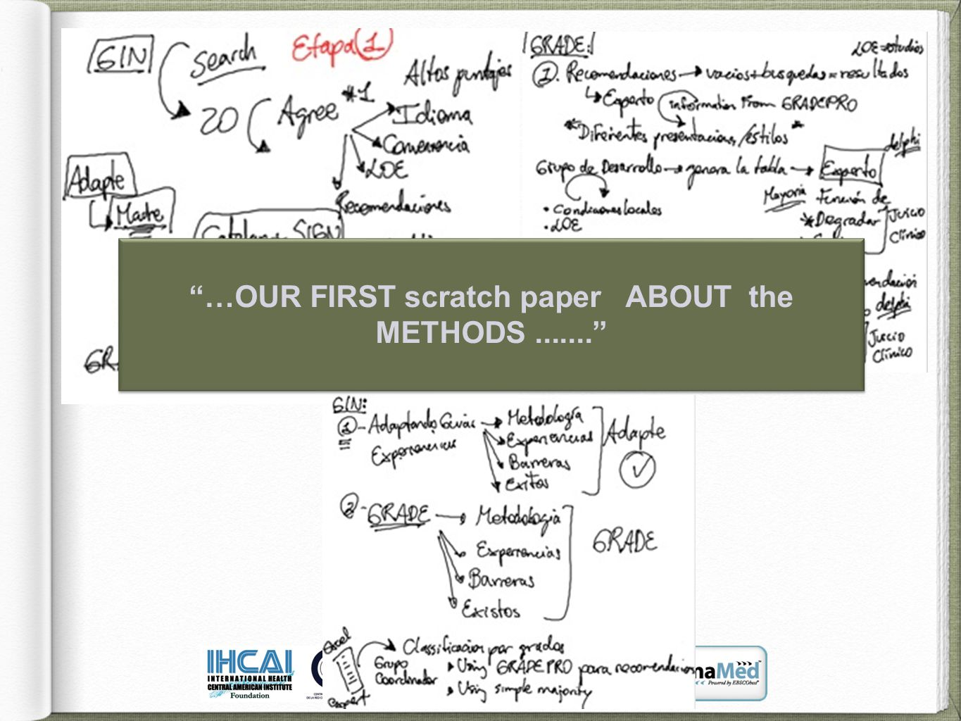 …OUR FIRST scratch paper ABOUT the METHODS....... …OUR FIRST scratch paper ABOUT the METHODS.......