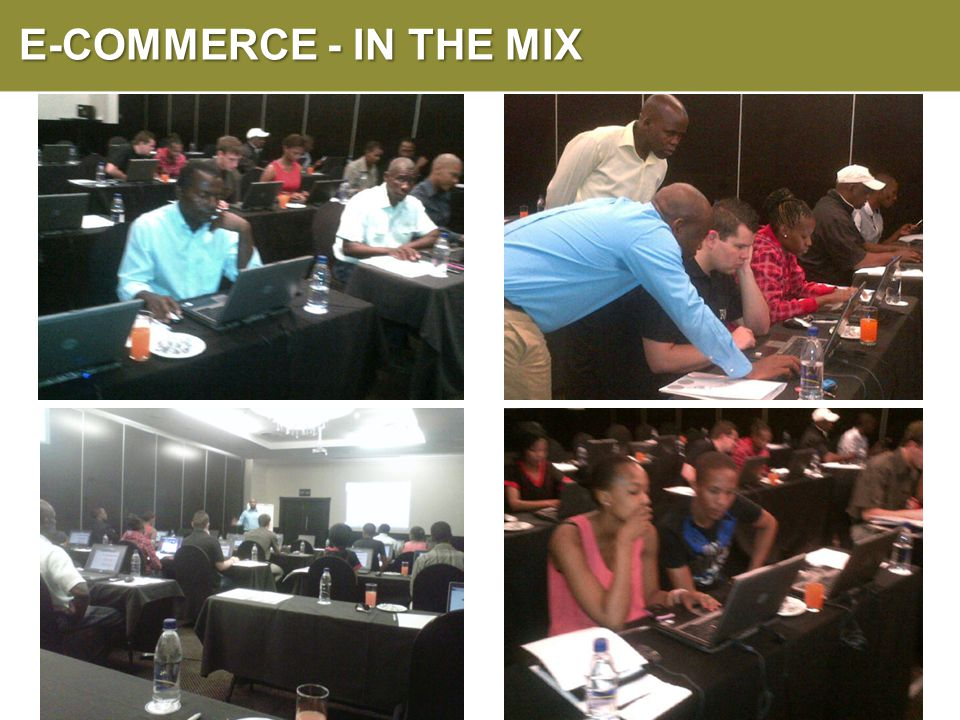 E-COMMERCE - IN THE MIX