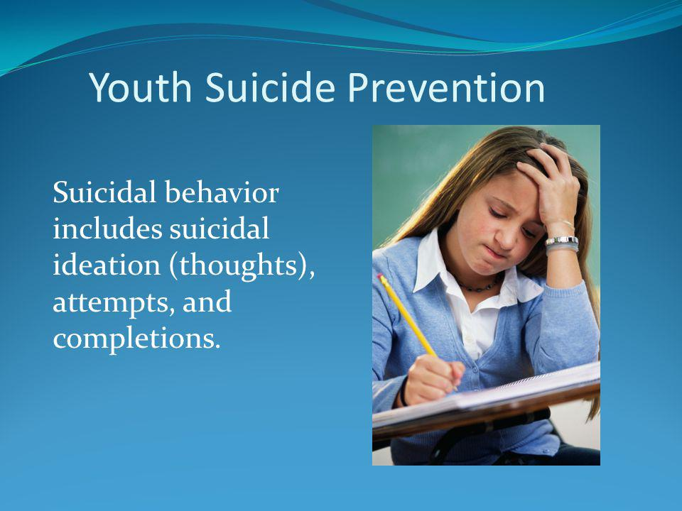 Some suicide postvention guidelines for schools Plan in advance of any youth suicide.
